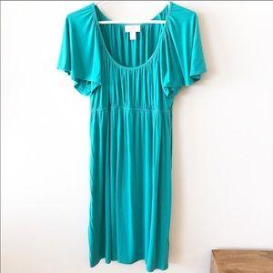 Ann Taylor Loft Babydoll Elastic Waist Dress
